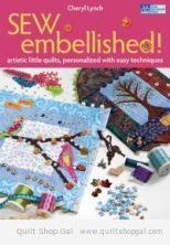 Martingale - Sew Embellished! (Print version + eBook bundle)