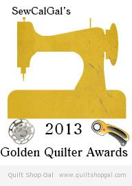 Golden Quilter Awards 2013
