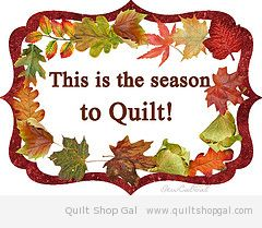 this is the season to quilt