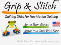 Grip & Stitch Quilting Disks
