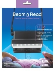 6 LED beam n read