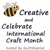 bee creative kick off badge