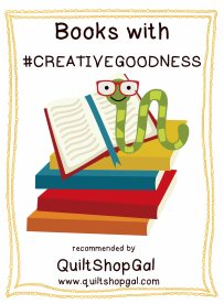 badge for books with #CreativeGoodness copy