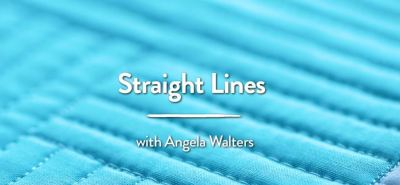 quilting with rulers, angela walters 2 straight line designs