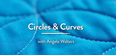 quilting with rulers, angela walters 4 circles and curves