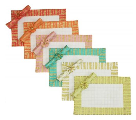 free pattern friday michael miller placemats