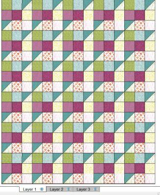 layer 1 quilt