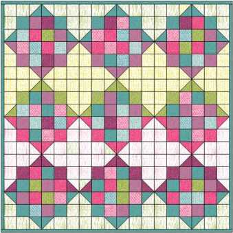 quilt layout for eq challenge 2