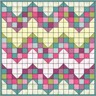 quilt layout for eq challenge