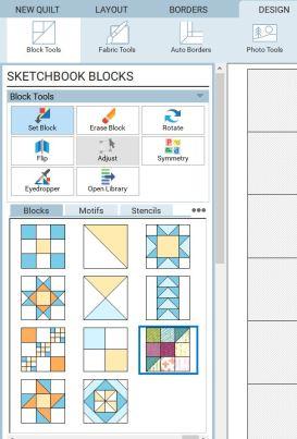 set block tool