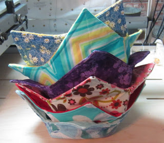1 barb gaddy fabric bowl holders