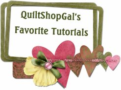 quiltshopgals favorite tutorials