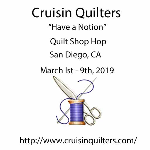 cruisin quilters quilt shop hop