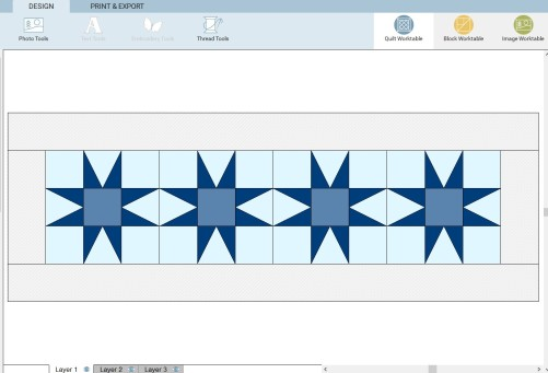 design 1 - set blocks