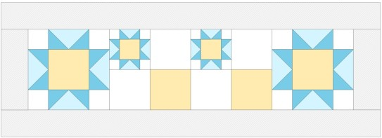 design with merged blocks