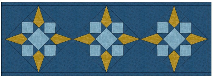 table runner colored