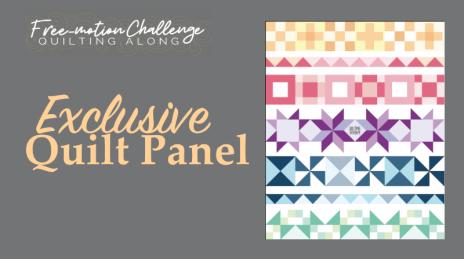 exclusive quilt panel