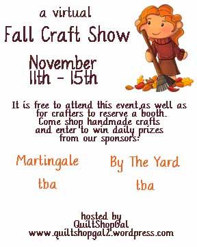 fall craft show logo