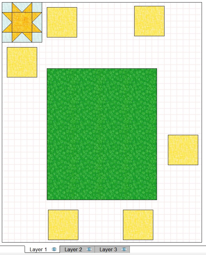 quilt layout 6 inch blocks approximate placement