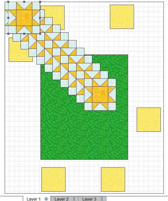 quilt layout 8 inch blocks set for 12 blocks