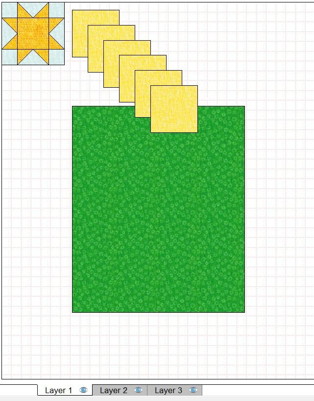 quilt layout duplicate 6 inch blocks