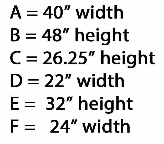 quilt layout measurement step 1 measurements only