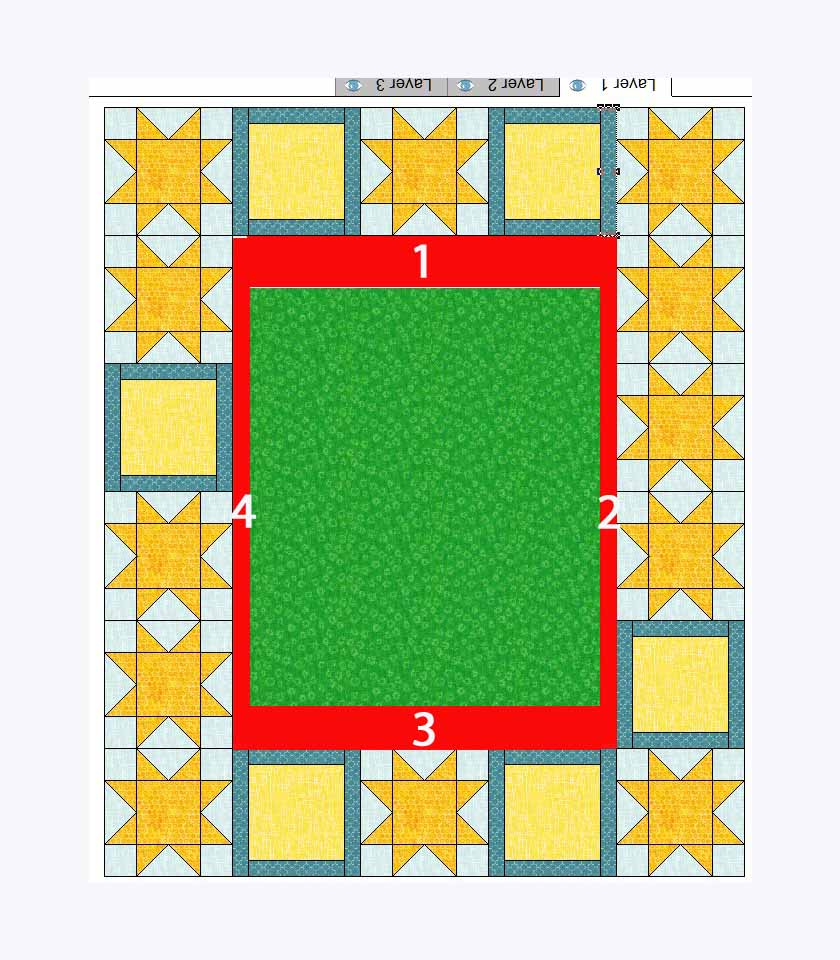 quilt layout measurement step 2 what we don't know