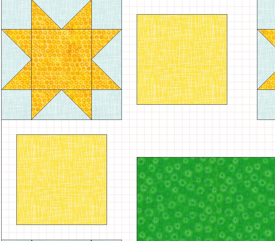 zoom in tool quilt layout
